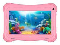 "Планшет Digma Optima Kids 7 RK3126С/RAM1Gb/ROM16/7""/WiFi/BT/2Mpix/0.3Mpix/Android 8.1/розовый - фото"