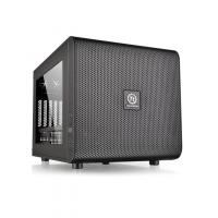 Корпус Thermaltake Core V21 черный без БП mATX 11x120mm 7x140mm 1x200mm 2xUSB3.0 audio bott PSU - фото