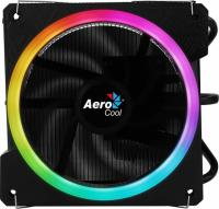 Устройство охлаждения(кулер) Aerocool Cylon 3 Soc-AM2+/AM3+/AM4/1150/1151/1155/ 4-pin 13-24dB Al+Cu 125W 480gr LED Ret - фото