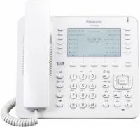 Телефон IP Panasonic KX-NT680RU белый - фото