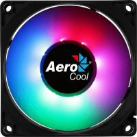 Вентилятор Aerocool Frost 8 80x80mm 3-pin 4-pin(Molex)28dB 90gr LED Ret - фото