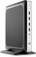 Тонкий Клиент HP t630 GX-420Gl (2)/4Gb/SSD32Gb/R7E/Windows 10 IoT Enterprise/GbitEth/WiFi/BT/65W/клавиатура/черный/серебристый - фото