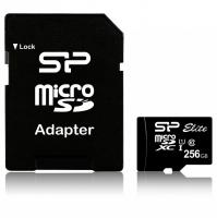Флеш карта microSDXC 256Gb Class10 Silicon Power SP256GBSTXBU1V10 w/o adapter Card Reader - фото