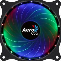 Вентилятор Aerocool Cosmo 12 120x120mm 4-pin(Molex)24dB 160gr LED Ret - фото
