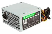 Блок питания Aerocool ATX 550W ECO-550 (24+4+4pin) 120mm fan 4xSATA RTL - фото