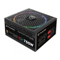 Блок питания Thermaltake ATX 750W Toughpower Grand RGB 80+ gold (24+4+4pin) APFC 140mm fan color LED 9xSATA Cab Manag RTL - фото