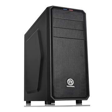 Корпус Thermaltake Versa H25 черный без БП ATX 4x120mm 1xUSB2.0 1xUSB3.0 audio bott PSU - фото