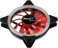 Вентилятор Aerocool Rev Red 120x120mm 3-pin 15dB 153gr LED Ret - фото