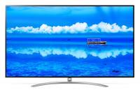 "Телевизор LED LG 65"" 65SM9800PLA NanoCell черный/коричневый/Ultra HD/100Hz/DVB-T/DVB-T2/DVB-C/DVB-S/DVB-S2/USB/WiFi/Smart TV (RUS) - фото"