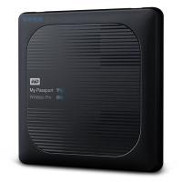 "Жесткий диск WD Original USB 3.0 1Tb WDBVPL0010BBK-RESN My Passport Wireless Pro 2.5"" черный Wi-Fi 802.11 a/c - фото"
