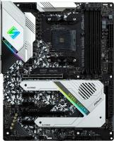 Материнская плата Asrock X570 STEEL LEGEND Soc-AM4 AMD X570 4xDDR4 ATX AC`97 8ch(7.1) GbLAN RAID+HDMI+DP - фото