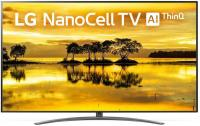 "Телевизор LED LG 85"" 86SM9000PLA NanoCell серебристый/черный/Ultra HD/200Hz/DVB-T/DVB-T2/DVB-C/DVB-S/DVB-S2/USB/WiFi/Smart TV (RUS) - фото"
