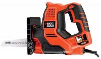 Сабельная пила Black & Decker RS890K-QS 500Вт 5500ход/мин - фото