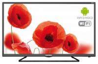 "Телевизор LED Telefunken 32"" TF-LED32S52T2S черный/HD READY/50Hz/DVB-T/DVB-T2/DVB-C/USB/WiFi/Smart TV (RUS) - фото"