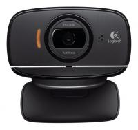 Камера Web Logitech HD Webcam B525 черный 2Mpix USB2.0 с микрофоном - фото