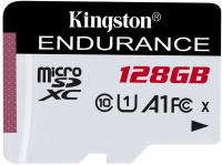 Флеш карта microSDXC 128Gb Class10 Kingston SDCE/128GB High Endurance w/o adapter - фото