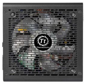 Блок питания Thermaltake ATX 650W Smart BX1 RGB 80+ bronze (24+4+4pin) APFC 120mm fan color LED 6xSATA RTL - фото