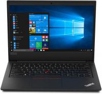"Ноутбук Lenovo ThinkPad E490 Core i3 8145U/4Gb/1Tb/Intel UHD Graphics 620/14""/HD (1366x768)/Free DOS/black/WiFi/BT/Cam - фото"