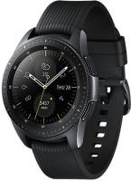 "Смарт-часы Samsung Galaxy Watch 42мм 1.2"" Super AMOLED черный (SM-R810NZKASER) - фото"