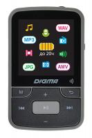 "Плеер Hi-Fi Flash Digma Z4 BT 16Gb черный/1.5""/FM/microSDHC/clip - фото"