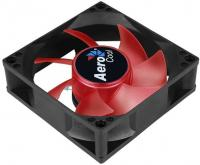 Вентилятор Aerocool Motion 8 Red-3P 80x80mm 3-pin 25dB 90gr LED Ret - фото