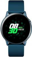 "Смарт-часы Samsung Galaxy Watch Active 39.5мм 1.1"" Super AMOLED зеленый (SM-R500NZGASER) - фото"