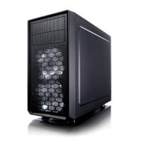 Корпус Fractal Design FOCUS G MINI Window черный без БП mATX 6x120mm 1x140mm 1xUSB2.0 1xUSB3.0 audio bott PSU - фото