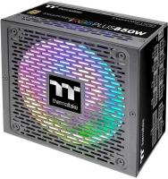 Блок питания Thermaltake ATX 850W Toughpower iRGB Plus 80+ gold (24+4+4pin) APFC 140mm fan color LED 12xSATA Cab Manag RTL - фото