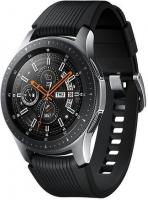"Смарт-часы Samsung Galaxy Watch 46мм 1.3"" Super AMOLED серебристый (SM-R800NZSASER) - фото"
