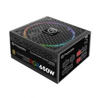 Блок питания Thermaltake ATX 650W Toughpower Grand RGB Sync 80+ gold (24+4+4pin) APFC 140mm fan color LED 9xSATA Cab Manag RTL - фото