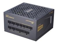 Блок питания Seasonic ATX 750W PRIME GX-750 80+ gold (24+4+4pin) APFC 135mm fan 8xSATA Cab Manag RTL - фото